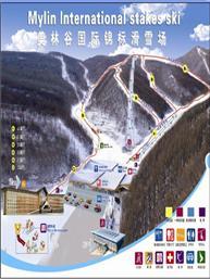 美林谷国际锦标滑雪场