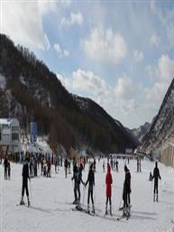 崇礼长城岭滑雪